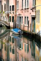 Canal Reflections in Venice, Italy