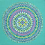 Blue-Green Mandala Prints & Posters