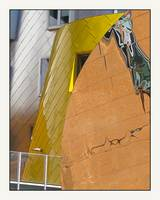 Gehry MIT Building Yellow & Reflection