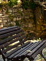 Stone Walled Bench