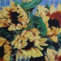 """""""Sunflowers"""" by alaskasfrozenartist"""