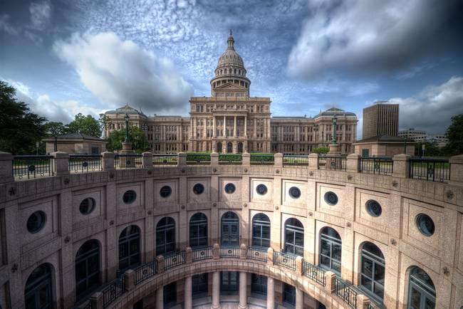 Texas State Capitol, Austin (landscape)
