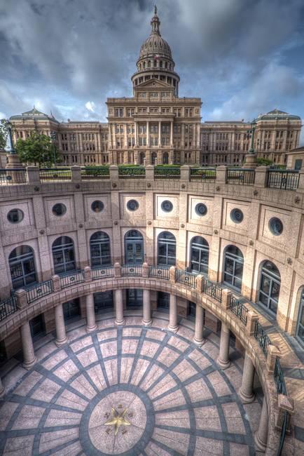 Texas State Capitol, Austin (portrait)