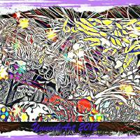 An Abstract distraction Art Prints & Posters by Rodger Gelkey