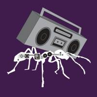 BOOMBOX ANT by Melissa Rivera - UNLEASH STUDIO