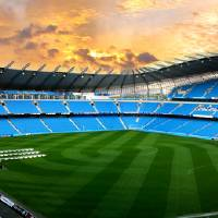 Manchester City Stadium Art Prints & Posters by Paul Shipper