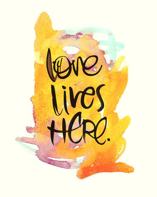 Love Lives Here By Stacy Kron