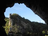The view from The Cave