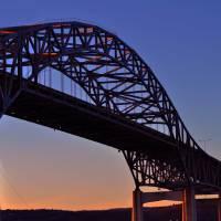 Blatnik Bridge by Lisa Rich