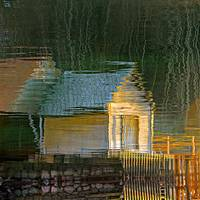 Boathouse Reflection