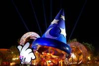 Sorcerer Hat at Night