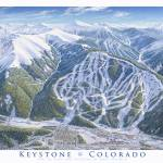 """Keystone Colorado"" by jamesniehuesmaps"