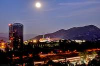 Mountain Universal City Moon View