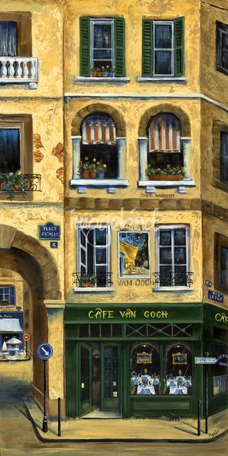 Cafe Van Gogh Paris