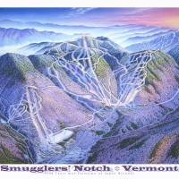 """""""Smugglers Notch"""" by jamesniehuesmaps"""