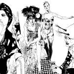 fashion is a circus Prints & Posters