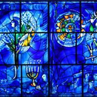 Marc Chagall. American window 3 (big) Art Prints & Posters by Marina Karsten