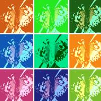 Pop Art Mosaic Art Prints & Posters by Carol Munro