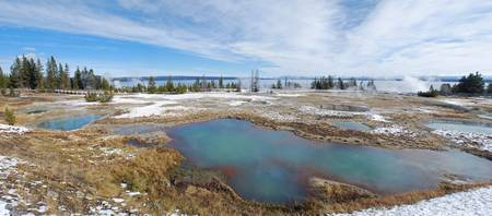 West Thumb Calderas at Yellowstone