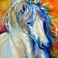 FIRE THUNDER EQUINE by Marcia Baldwin