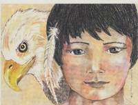 Indian Boy and Eagle