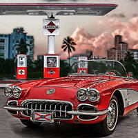 """""""little red corvette"""" by Jo-PinX"""