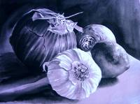 Garlic Still Life