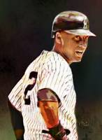 Derek Jeter, New York Yankees, MLB # 2