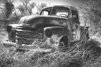 Time and Metal: Chevy in a Field
