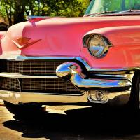 Pink Caddy Art Prints & Posters by Seymore Jones