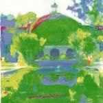 Balboa Park Botanical Building - San Diego Art by RD Riccoboni