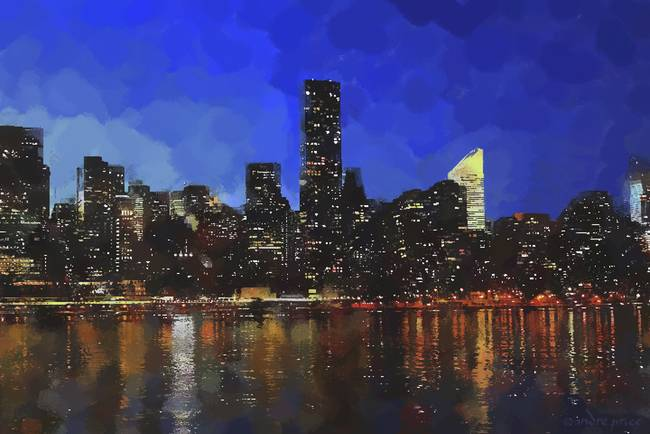 """Stunning """"Skylines"""" Drawings And Illustrations For Sale On ..."""
