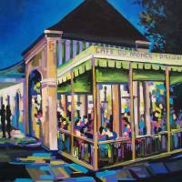 """Cafe Du Monde"" by neworleansartist"