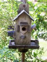 Little Wooden Birdhouse