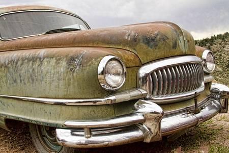 Vintage 1951 Nash Ambassador Front End
