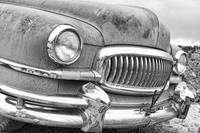 1951 Nash Hydra-Matic Front End 2 BW
