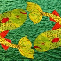 Pisces Art Prints & Posters by katie N