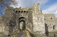 Entrance to Beaumaris castle