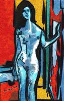 Abstract Nude Girl