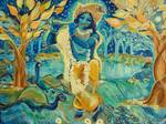 My Krishna is Blue Posters