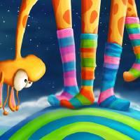 """""""Striped Socks - Revisited"""" by Tooshtoosh"""