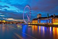 London Eye Nightscape