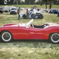 1961 Elva Courier Art Prints & Posters by Sandro Menzel