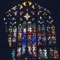 Modern Glass, St. Vitus' Cathedral by Priscilla Turner