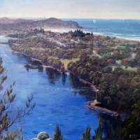 Over Collaroy Plateau, Nothers Sydney Beaches Art Prints & Posters by Raymond McLaren