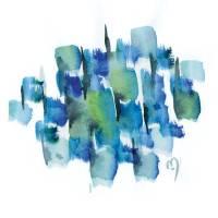 Atom Sea No17 by MARINA KANAVAKI