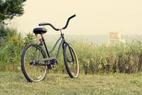 Bicycle on Beach Photo -