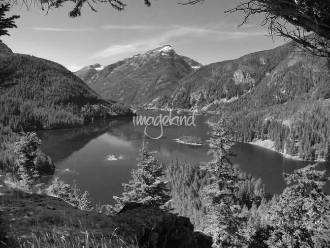 Diablo Lake - Northern Cascades Washington