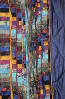 A Patchwork of Fabric Abstract