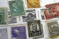 Collage of US Postal Stamps